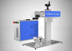 China Air Cooled Jewelry Laser Marking Machine 30W Random Polarization With CE Certification on sale