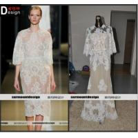 China DH02 New Style Elie Saab Half Sleeve Appliques Beaded Floor Length Evening Dresses For Sale on sale