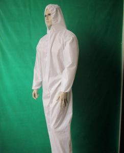 China Waterproof Long Sleeves PP Isolation Gown Flame Resistant Environment Friendly on sale