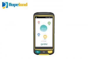 China Tablet Android Rfid Scanner , Bluetooth Rfid Reader Android For Smart Grid Checking on sale