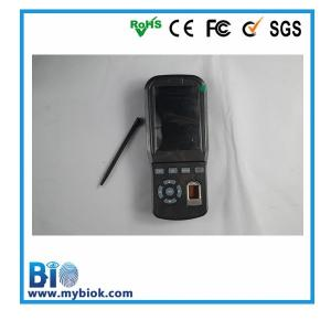 China Touch Screen Mobile Fingerprint Reader Attendance with GPRS Bio-PH03 on sale