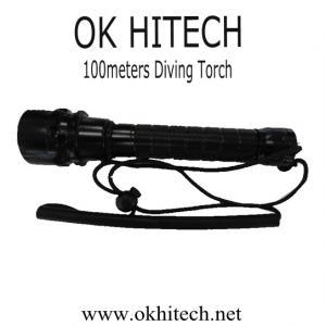 China Diving flashlight torch CREE LED 1000Lumens on sale