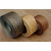 China Natural Wood Veneer Edging Rolls With Fleece Back on sale