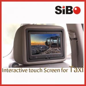 China 9-10 Inch Touch Screens For Taxi Advertisement Operation Update Advertising Remotely on sale