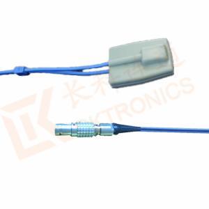 Quality Sensor SpO2 reusável do Pin do sensor 5 da ponta de prova de CSI CRITICARE Spo2 for sale
