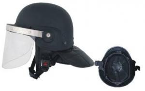 China PC / ABS Riot Control Equipment Tactical Anti Riot Helmet on sale