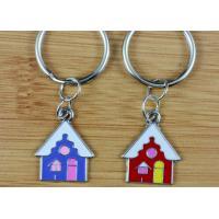 metal keychain house shaped, metal keychain house shaped