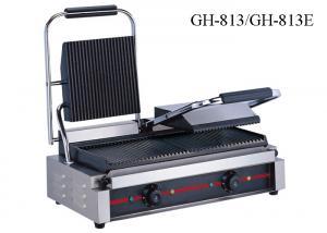 China O Griller de aço inoxidável do contato único/dobro dirige a máquina da grade do sanduíche on sale