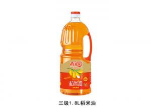 China Food Grade Cold Pressed 1.8L Crude Rice Bran Oil on sale