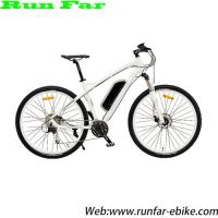 China alloy frame pedal assistant system MTB style rechargable electric bicycle on sale