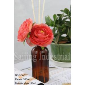 China grupo elegante quente do presente do difusor de Reed da flor 150ml on sale