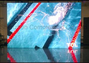 China Customized indoor Commercial advertising HD P3 LED Display Screen Nova / Linsn Software Full Color LED Video Wall on sale