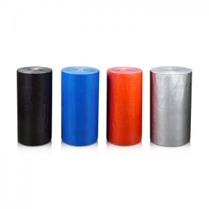 China Blue / Silver colorful  Duct Tape jumbo roll Sealing Carpet Joints edge on sale