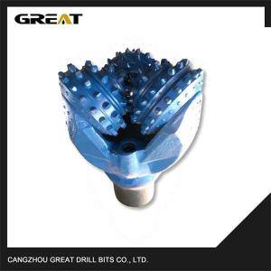 China 17 1/2  IADC 517  TCI type Metal sealed tricone drill bit  with Rubber saled jounal bearing on sale