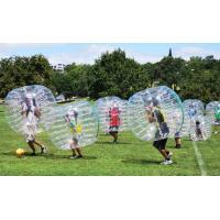 Popular Dot Inflatable Loopy Ball Transparent / Customized human hamster balls
