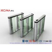 Pedenstian Entry Speed Gate Turnstile Gate Visit Management System For Bank With CE approved