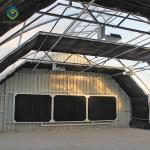 100% Light Deprivation Automatic Blackout Greenhouse For Hemp
