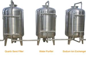 China Stainless Steel RO Industrial Water Treatment Machine for Water Filling Line on sale