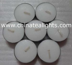 China White Unscented Tealight Candles Long Hour Burning on sale