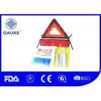 Lightweight Car Emergency First Aid Kit Car Safety Bag Warining Equipments Included