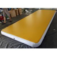 Yellow Gymnatics Inflatable Air Track / Air Tumble Track AT-04