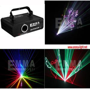 China 1W RGB Laser Light ILDA DMX DJ DISCO STAGE LASER on sale