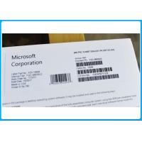 China authentic windows license Microsoft Windows 10 Pro Software Pack OEM 32 / 64 Bit Key Code on sale