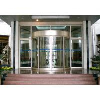 Mansion Double wing automated commercial automatic sliding glass doors