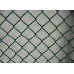 Garden Protect Plastic Wire Mesh / Chain Link Fence PVC Coated Low Carton Steel