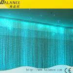 新しい多色刷りおよび多彩な3*0.75視覚繊維の壁のカーテン