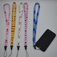 China Non Toxic Nylon 2.5mm Cell Phone Lanyard Strap on sale