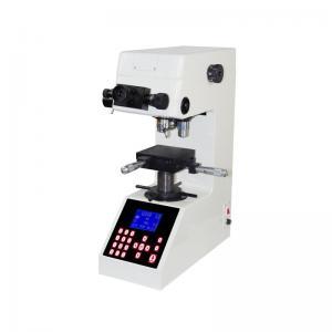 Quality White Color Digital Hardness Tester / Durometer Adjustable Light Source for sale