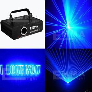 China DMX512+ILDA+SD ilda/2000mW 2w MINI blue laser disco lights /programmable laser on sale