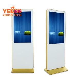 China OEM 49 inch hd lcd free stand ,shop advertising kiosk,android 4g advertising player on sale