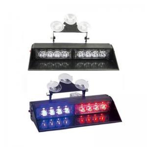 China window shield red blue police emergency blinker LED strobe dash lights on sale