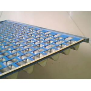 China Stainless Steel/Plastic Flat Mesh Shale Shaker Screen/Resistant to abrasion, erosion and temperature. on sale