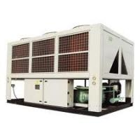Double Compressor trane Air Cooled Screw Water Chiller efficiency for chemical