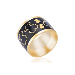 China Anniversary Celebrate Stainless Steel Signet Ring For Gift OEM / ODM Available on sale