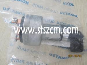China Ignition switch, 22B06-11910, PC50MR-2,PC200-8 Komatsu excavator cabin interior spare parts on sale