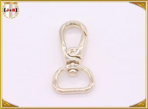 China Light Gold Metal Swivel Snap Hooks Customized Handbag Making Accessories on sale