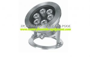 China Stainless Steel Casting DMX512 / 4 Lines LED Underwater Fountain Lights DC12V DC24V on sale