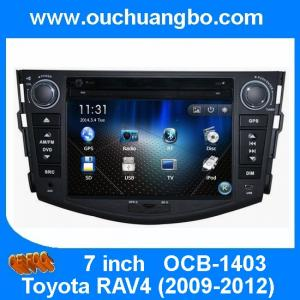 China Ouchuangbo DVD Stereo System for Toyota RAV4 2009-2012 GPS Navigation iPod USB  TV  Bluetooth Stereo Audio OCB-1403 on sale