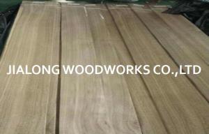China Grado de madera natural del AAA del grano del corte del cuarto de la madera contrachapada de la chapa de la nuez de los muebles del hotel on sale