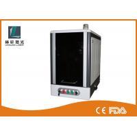 Vertical Full Closed Metal Laser Marking Machine 20 watt 70 * 70mm / 110 * 110mm
