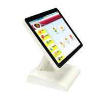 China White Restaurant Cash Register Touch Screen , Super Thin All In One Touch Pos Terminal on sale