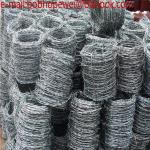 barbed wire for sale by the foot/barbed wire by the foot/ razor wire price/barbed wire fence post/barbed wire fence cost