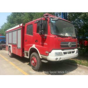 China Offroad 4X4 Rescue Fire Truck With 3000 Liters Water Tank 1500 Liters Foam on sale