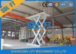 6M Stationary Auto Basement Hydraulic Car Lift
