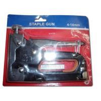 China KM  Professional adjustable Metal Hand Tacker Staple Gun Stapler Kit Nail Gun on sale