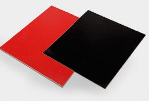 China Indoor Solid Color PVC Wall Boards Anti - Freezing 1.0IRa Radioactivity on sale